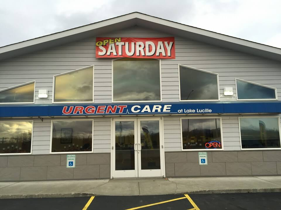 Urgent Care at Lake Lucille open Saturdays