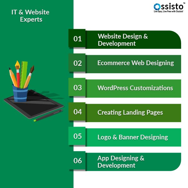 IT and Website design and development