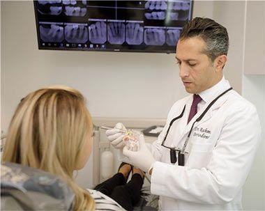 Rahmani dental implant office NYC