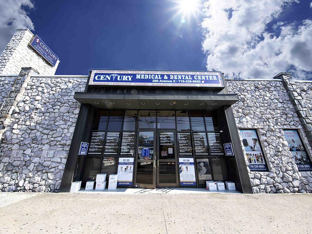 Century Medical consultation room in Brooklyn