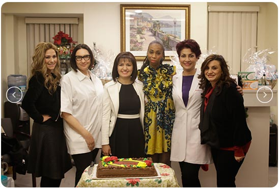doctors at aesthetic clinical center in Manhattan