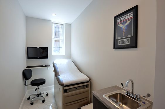 Manhattan Gastroenterology exam room