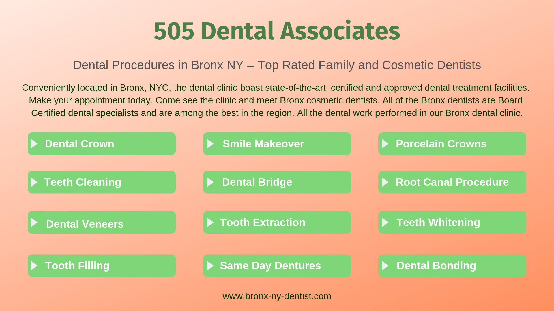 505 Dental Associates in the Bronx