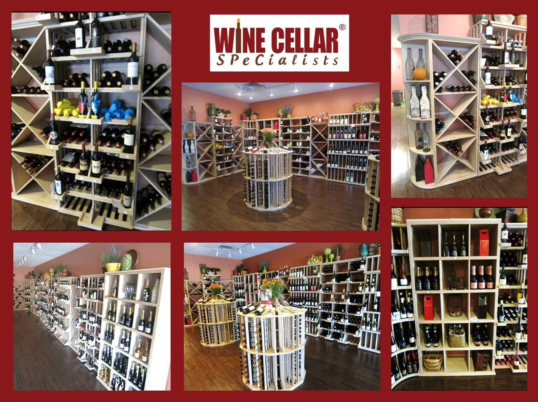 Commercial Wine Cellar Design Florida