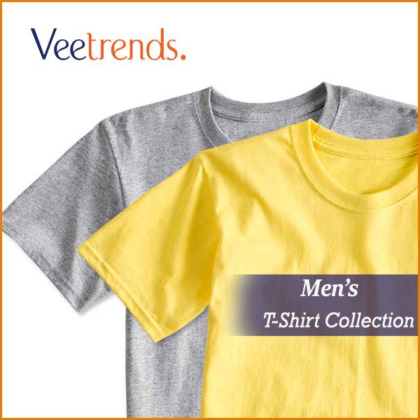 Veetrends - Wholesale Blank T-Shirts Men