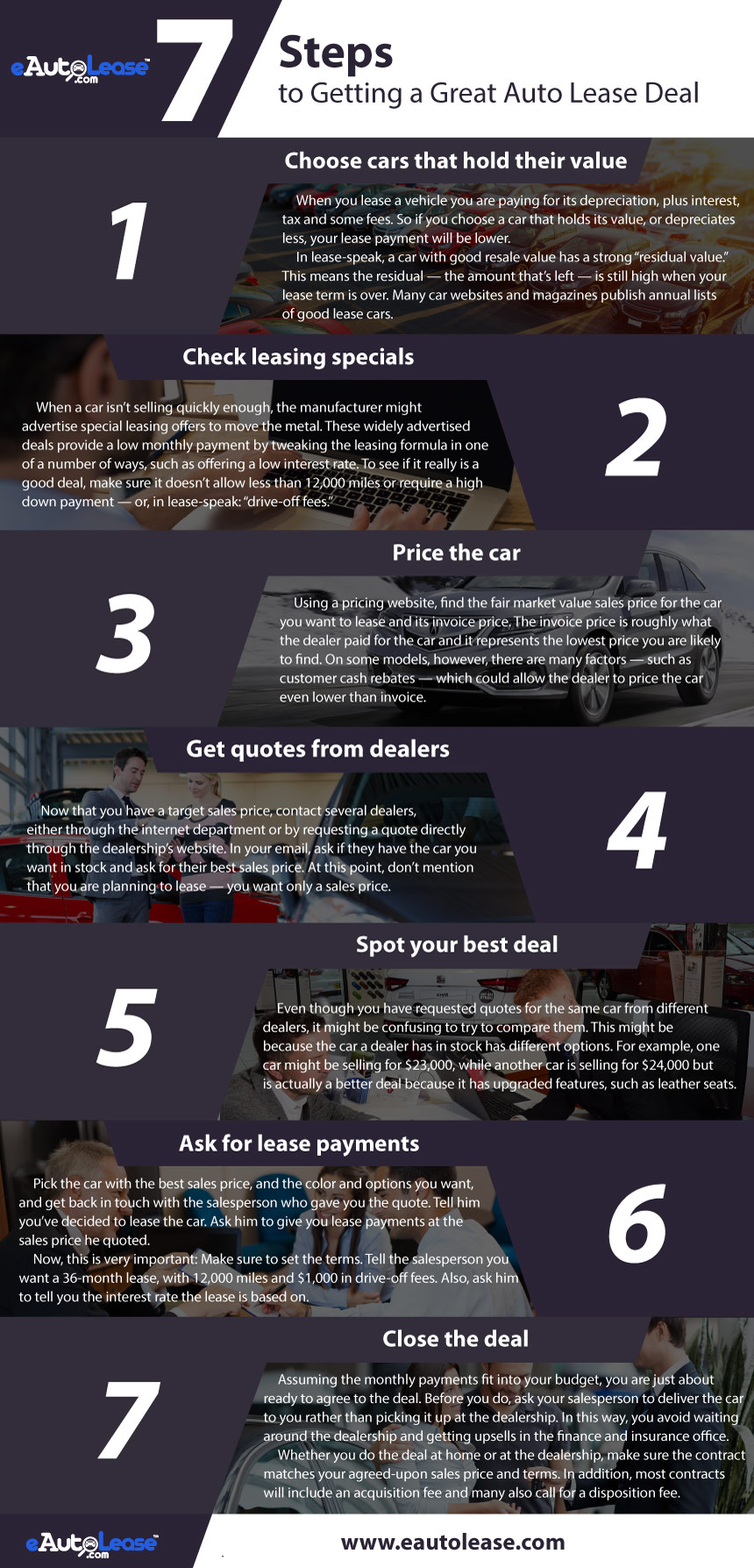 online auto lease service