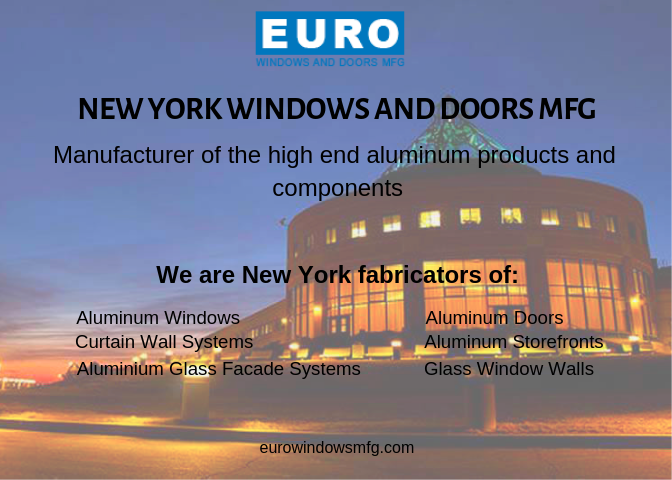 Euro window company in New York