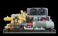 Industrial air compressor builder