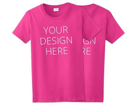 design t-shirt add logo