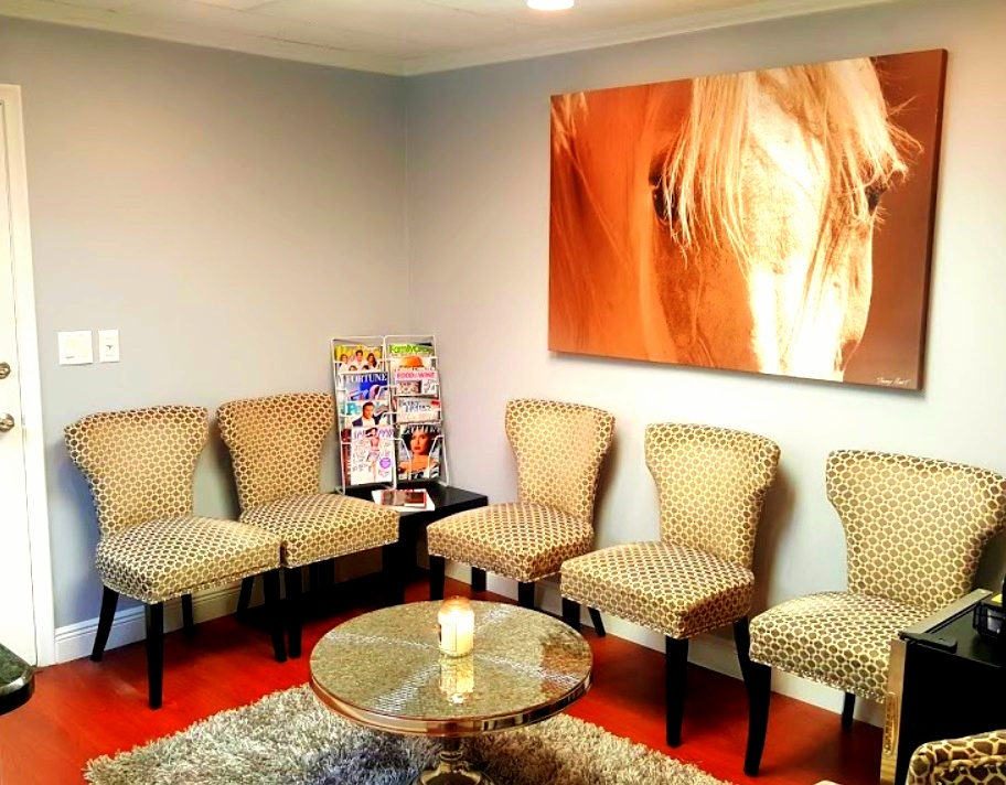 Waiting area at our cosmetic dentistry in Hallandale Beach FL