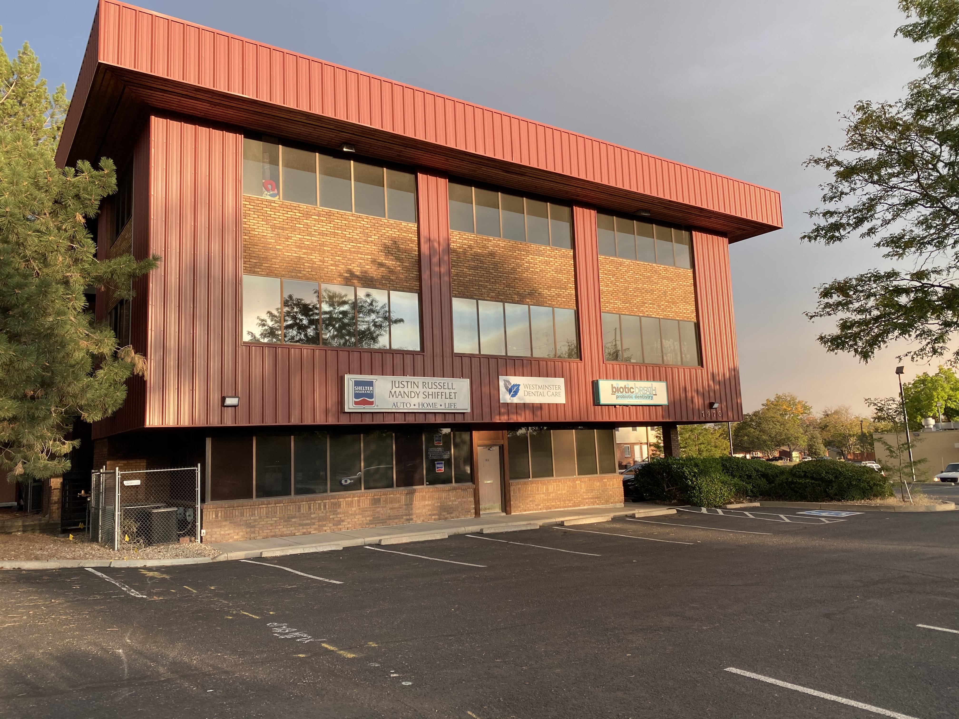Exterior view of the building Westminster Dental Care