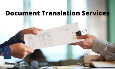 Document Translation Services for Business