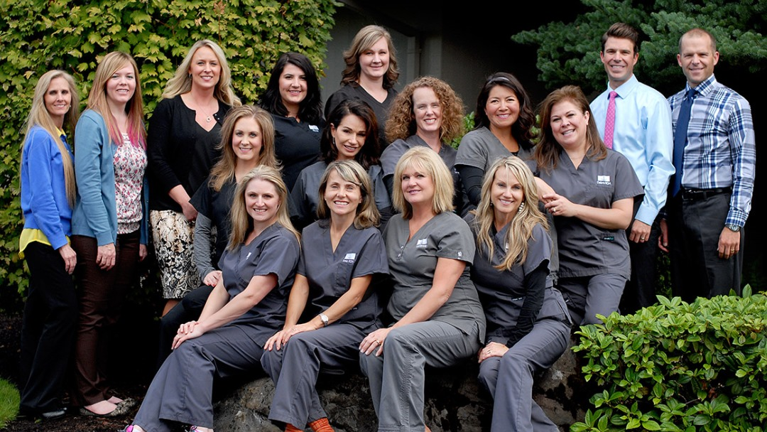The team at Gillespie Dentistry of Vancouver Washington