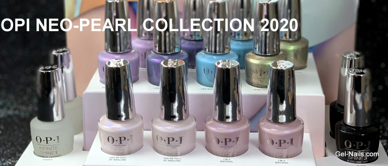 opi neo pearl shine gel polish for nails