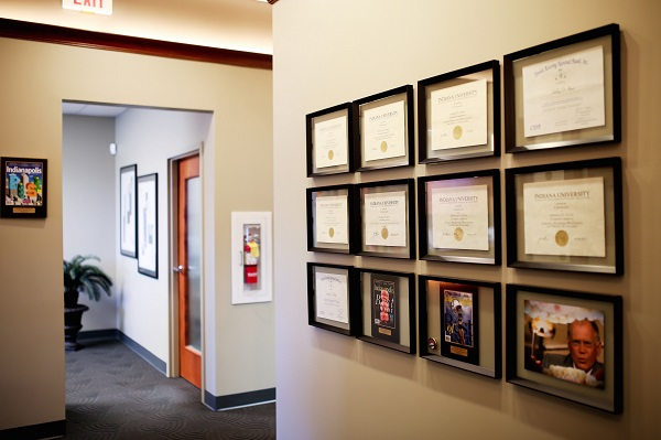 Awards and certificates of Fishers Dentistry Grin Dentistry