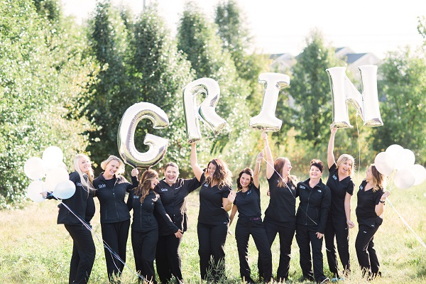 Best office staff of Grin Dentistry