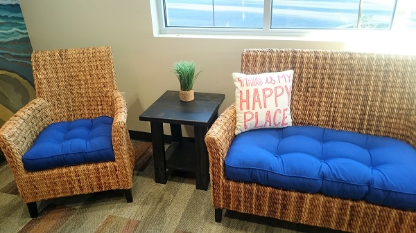 The happy space at Smile Surfers Kids Dentistry Sumner, Washington