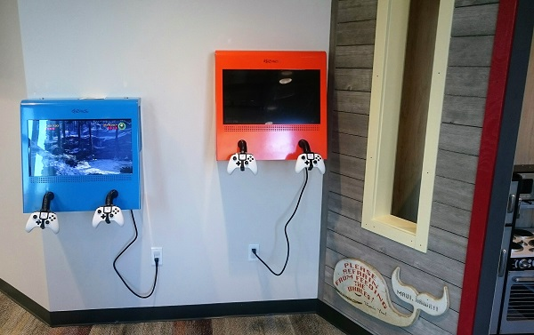 X Box at Smile Surfers Dentistry Sumner for Kids in Washington