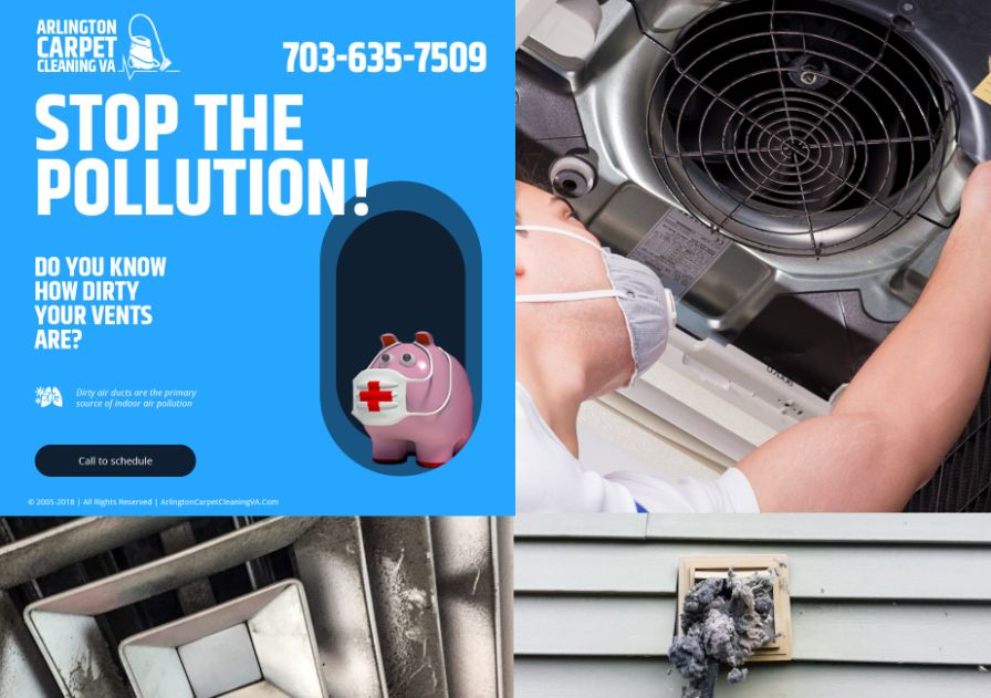 Air Duct System Cleaning Arlington Virginia