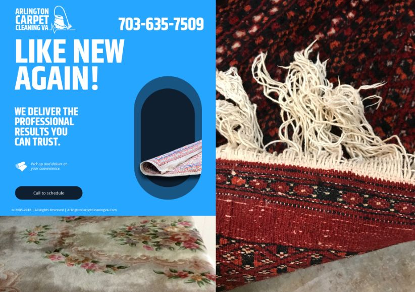 Area Rug Cleaning Care Providers Arlington