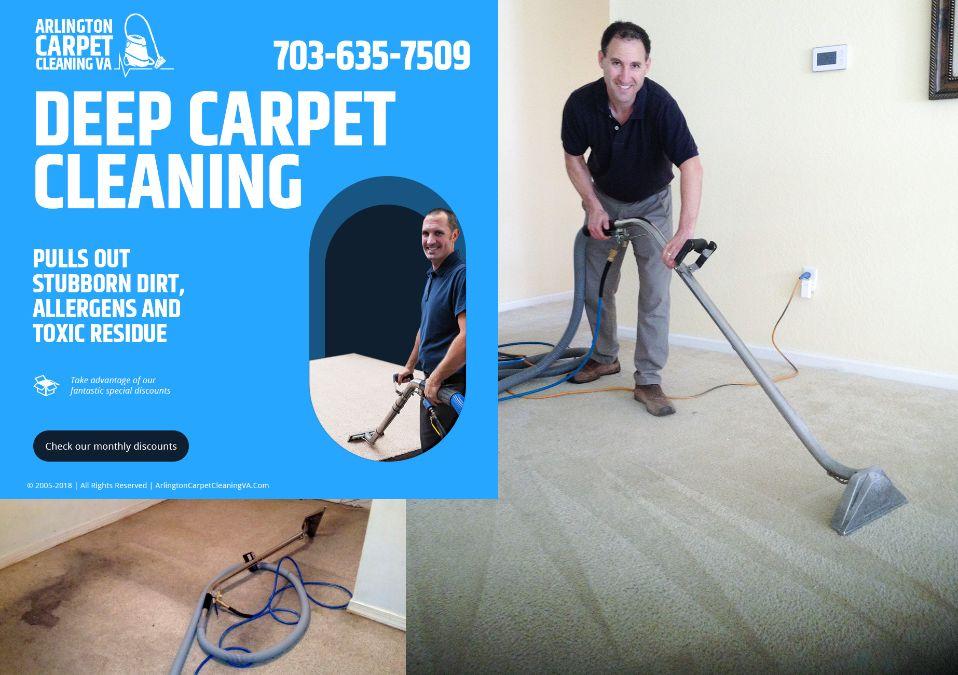 Deep Carpet Cleaning Services Arlington