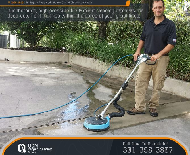 Natural Stone Tile And Grout Cleaning