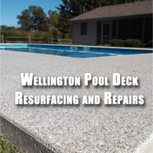 Wellington Pool Deck Resurfacing and Repairs- Render Exceptional Pool Deck Services
