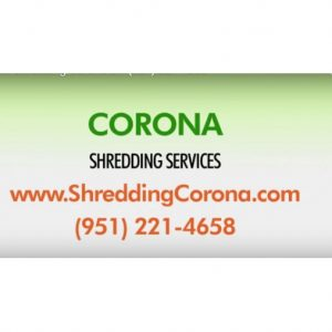 Corona Shredding Services
