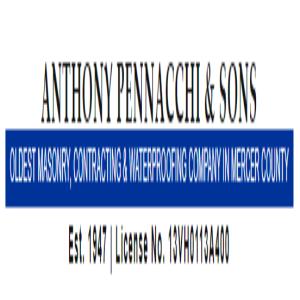 Anthony Pennacchi and Sons brick masons on NJ Wall Directory