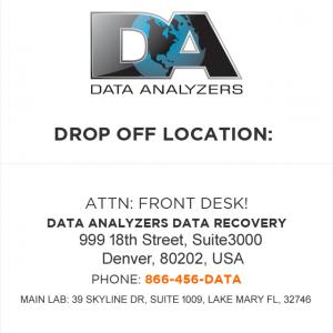 Data Analyzers Data Recovery - Denver Colorado