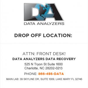 Data Analyzers Data Recovery North Carolina best business directory