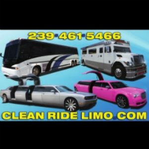 Clean Ride Limo Florida limo marketing website