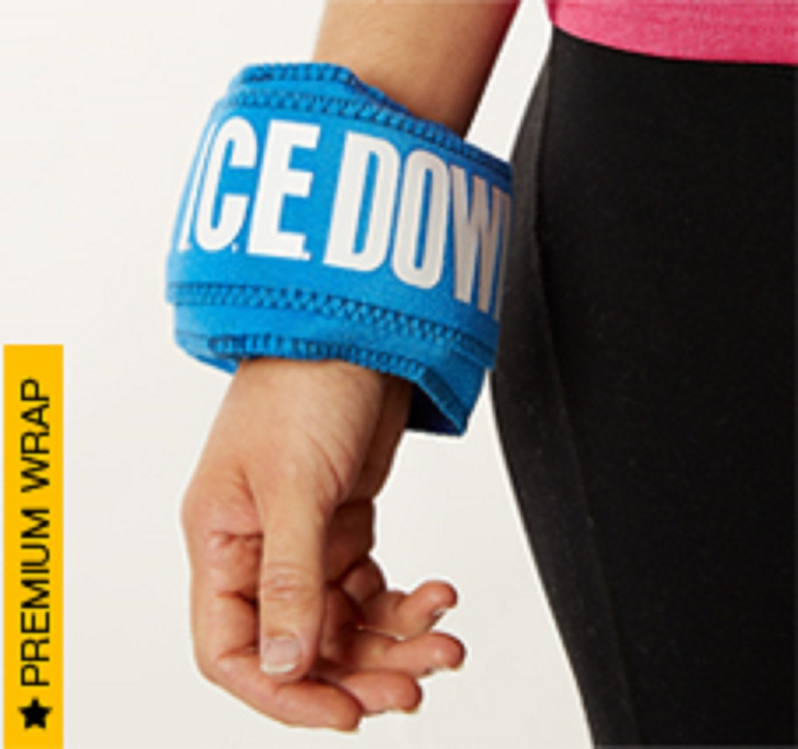 I.C.E. Down - Cold Therapy Ice Wraps
