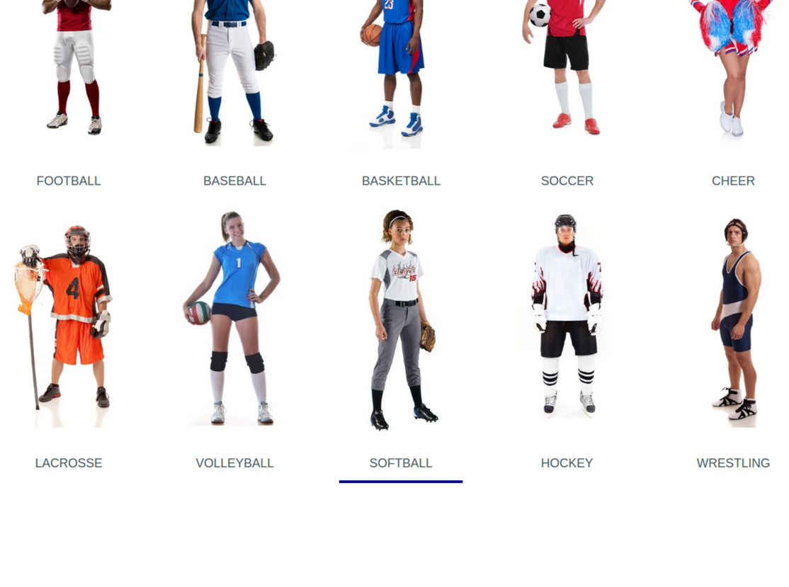 Online Platform to Customize Sport Uniforms