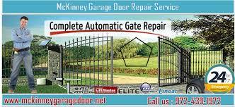 Garage Door Repair Service in McKinney, TX