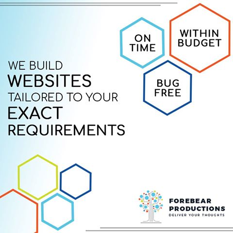 Forebear Productions Web Design and Development Company
