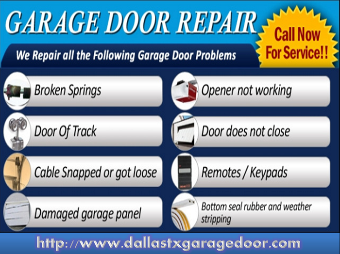 Garage Door Repair Service Dallas TX