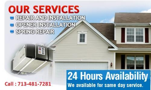 Garage Door Repair Missouri City, Houston