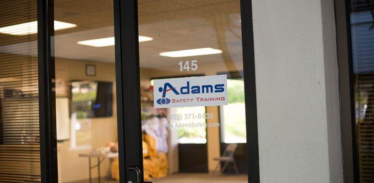 Adams Safety Training Center in Petaluma