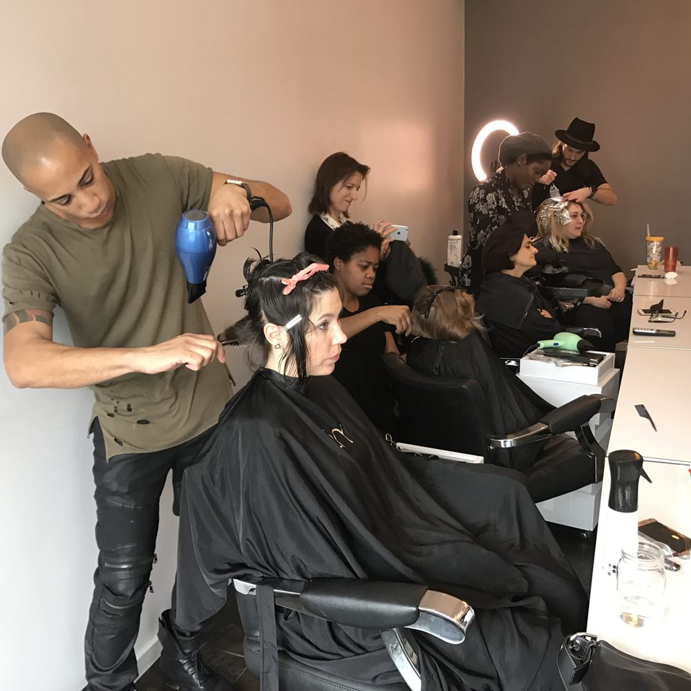 The Club by Dominik Mager NYC womens hair salon Harlem directory