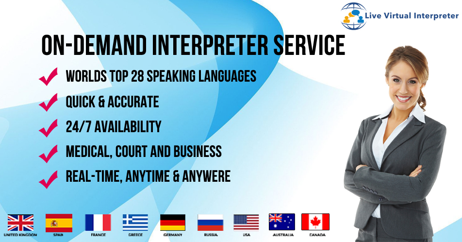 Live Virtual Interpreter for business
