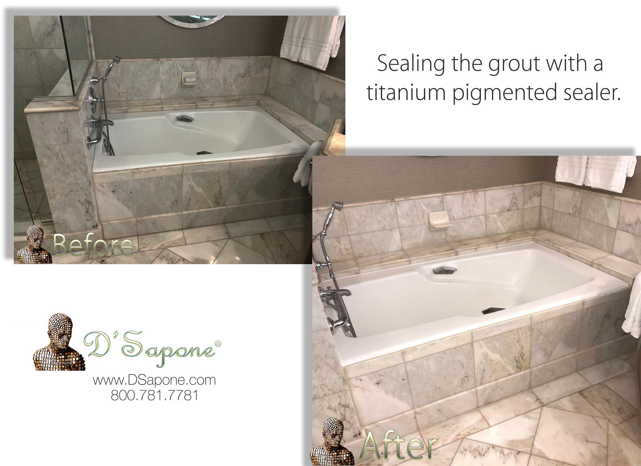 Tile and Grout Restoration in California