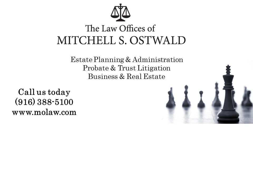 Law Offices of Mitchell Ostwald Sacramento Lawyers California directory