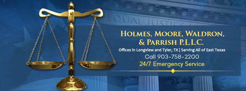 Holmes, Moore, Waldron, & Parrish lawyers for legal representation