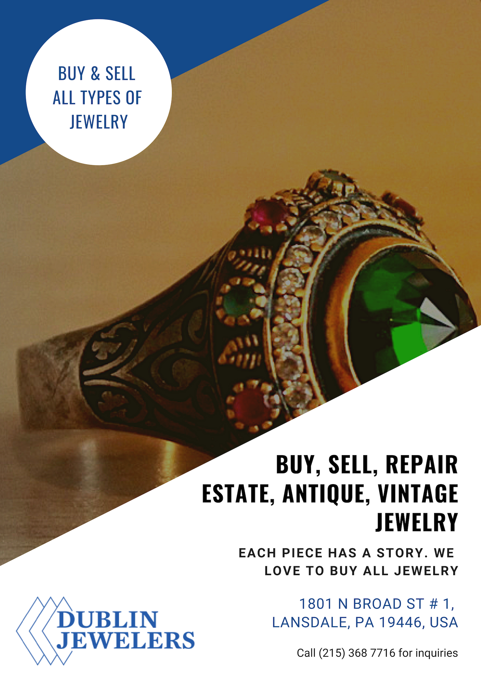 Buy Wedding Ring Philadelphia Lansdale diamond jewelers