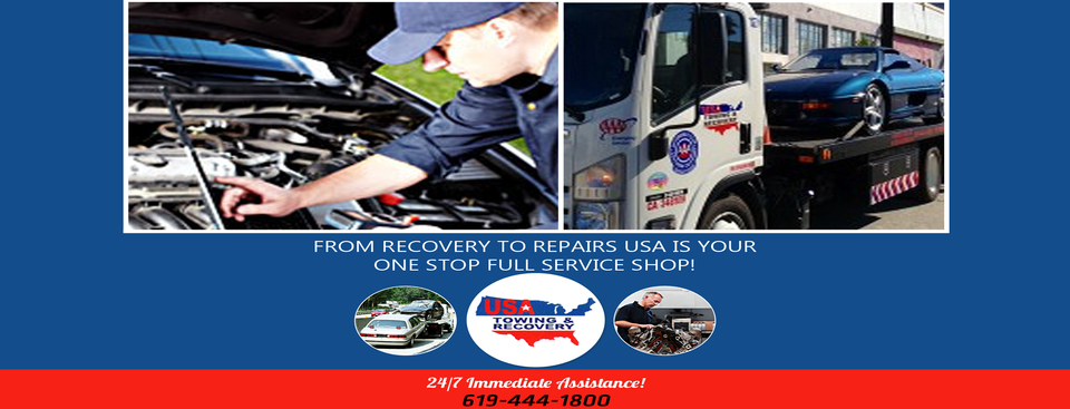 USA Towing and Recovery in El Cajon San Diego