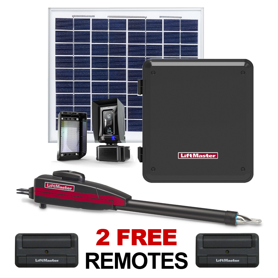 Affordable Solar Garage Door Openers