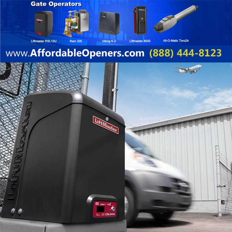Affordable Gate Openers garage door openers California
