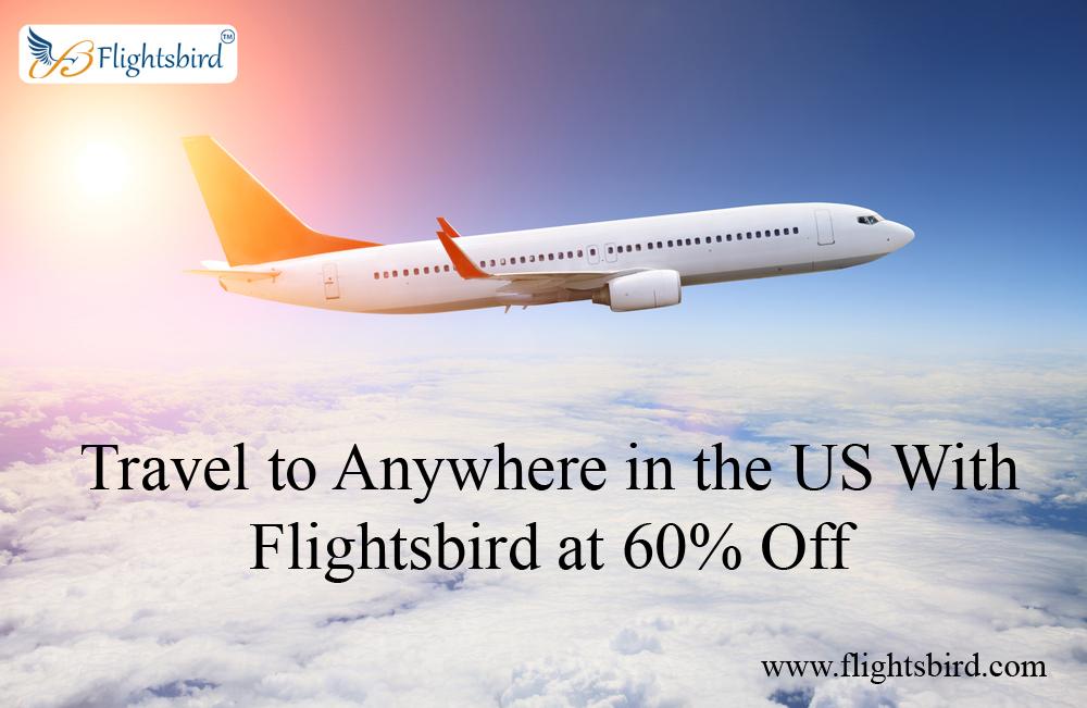 Book Flight Tickets at Flightsbird to Save